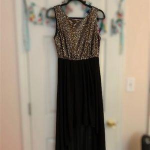 Black Hi Low Dress